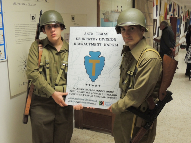 36th Div Texas Reenactment Napoli