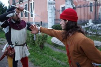 Scherma, musica e teatro contro il bullismo - la battaglia di Nova Aetas