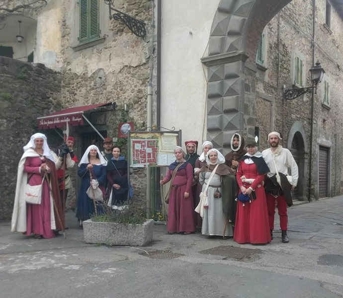 Marcia storica Via Francigena