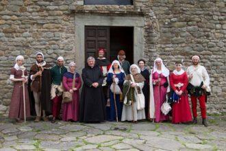 Pieve di Sorano - Marcia storica Via Francigena
