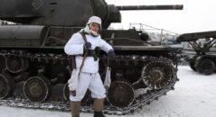 Luca alla rievocazione storica organizzata a Dubosekovo - Russia